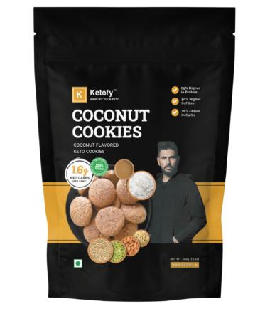 Coconut Keto Cookies