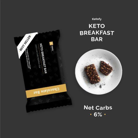 Ketofy - Keto Breakfast Bar