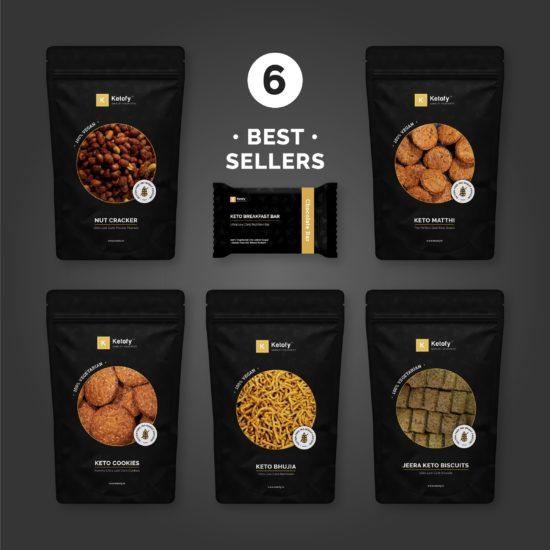 Ketofy - Mini Keto Snack Pack
