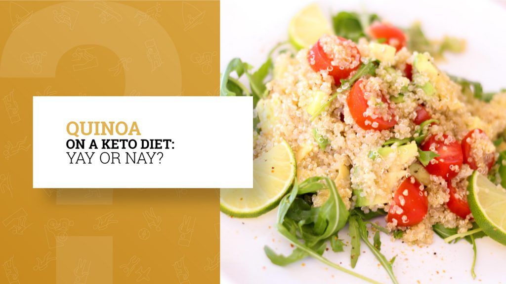is quinoa keto friendly