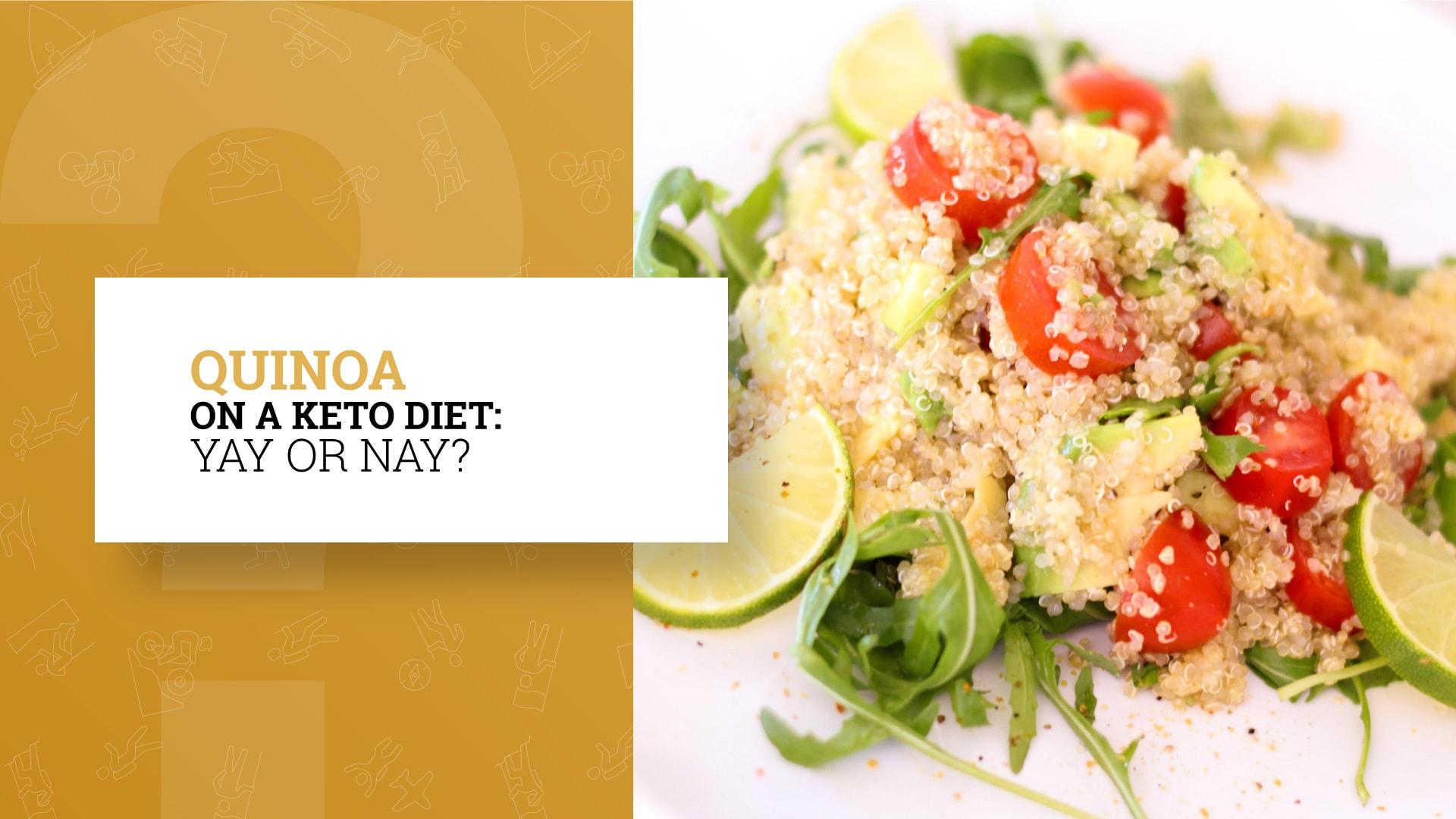 is quinoa keto friendly
