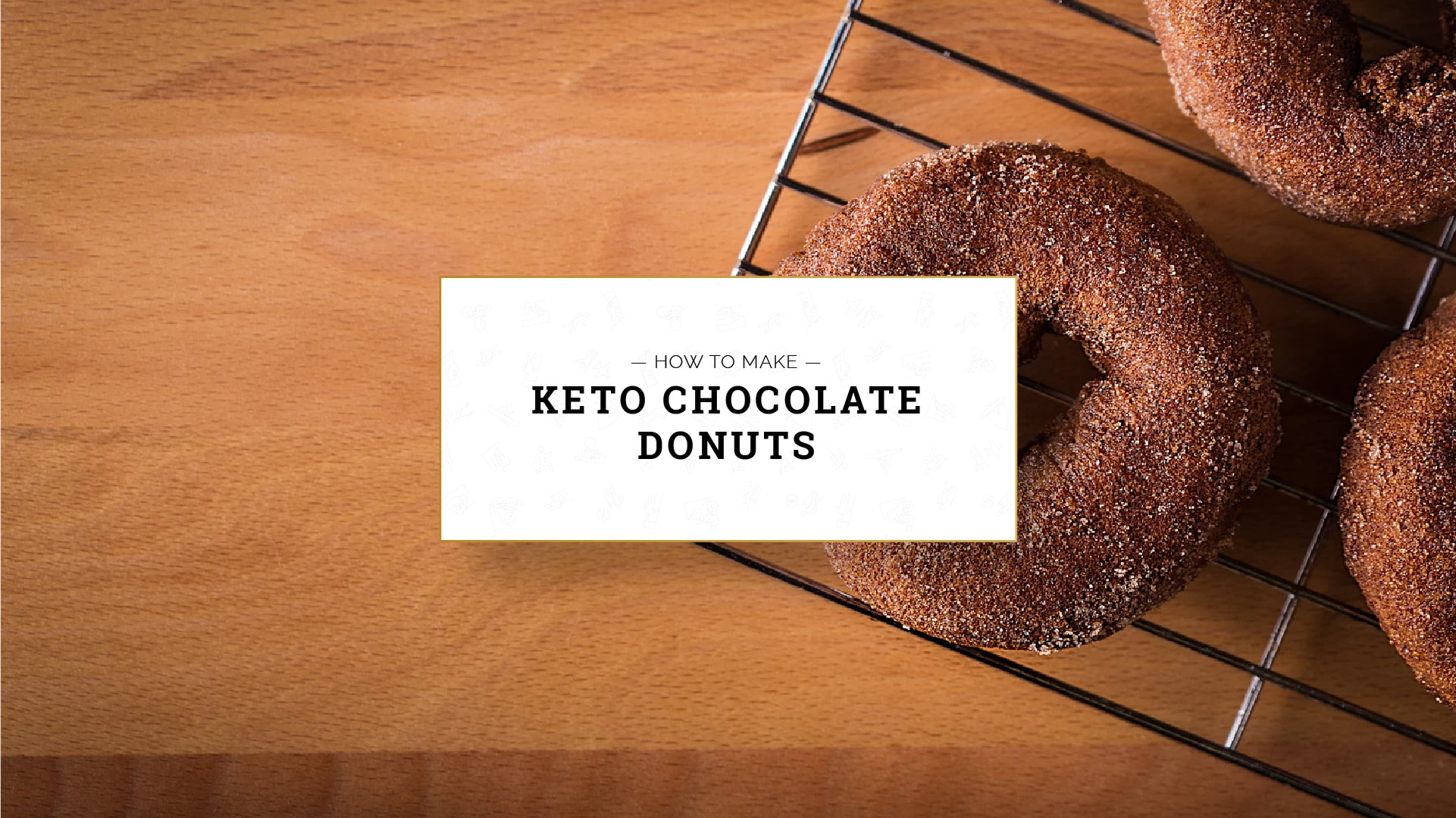 Keto Chocolate Donuts