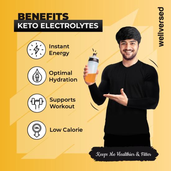 Keto electrolyte