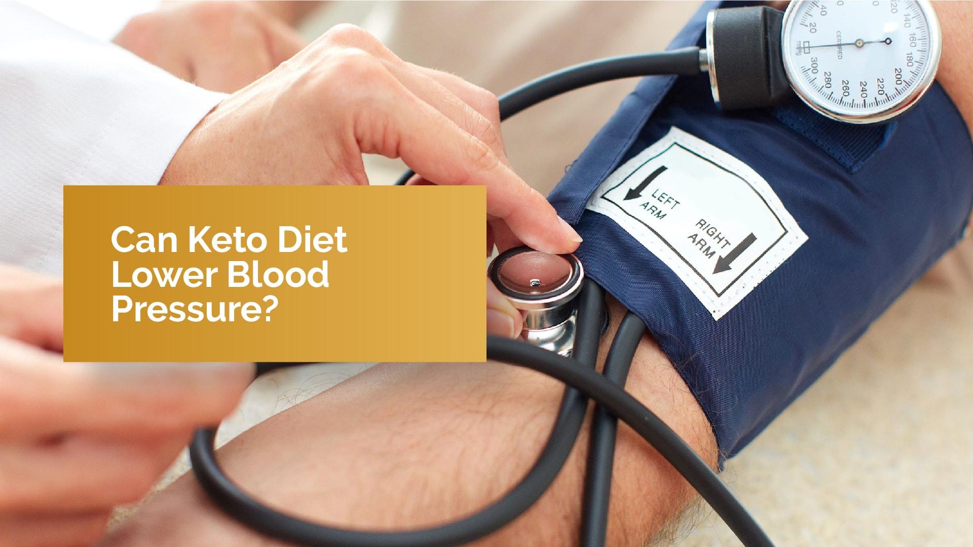 keto low blood pressure