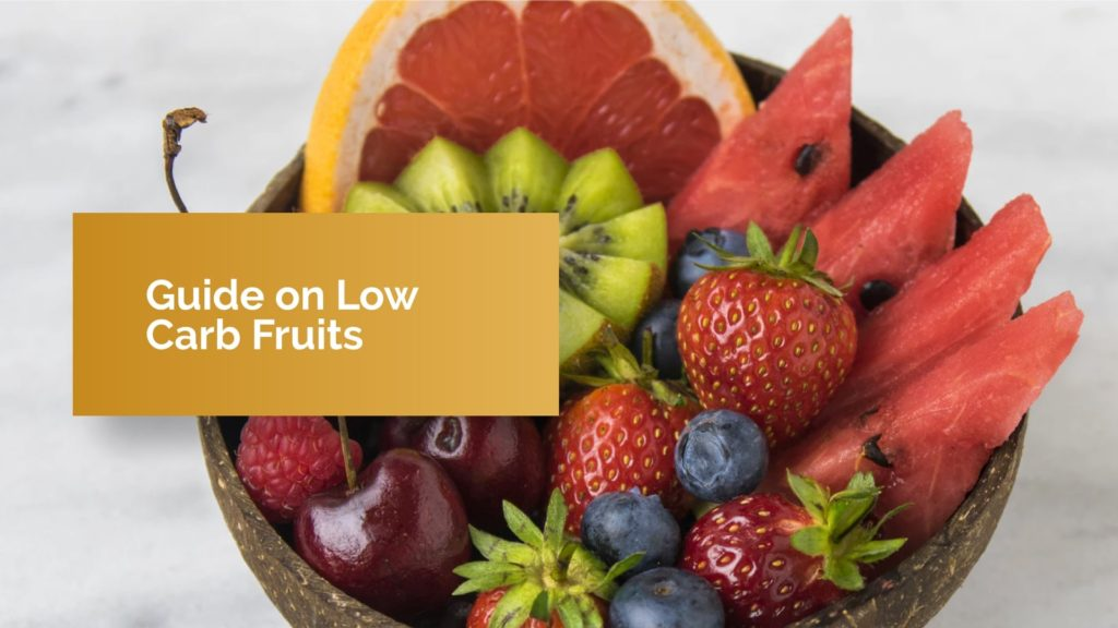 low carb fruits