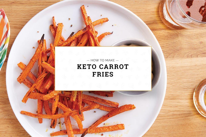 Keto Carrot Fries