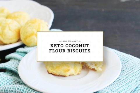Keto Coconut Flour Biscuits