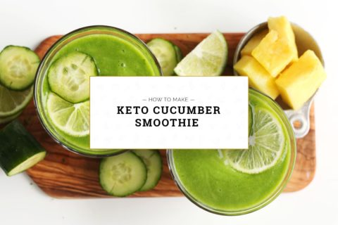 Keto Cucumber Smoothie