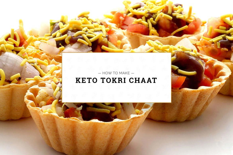 Keto-Tokri-Chaat