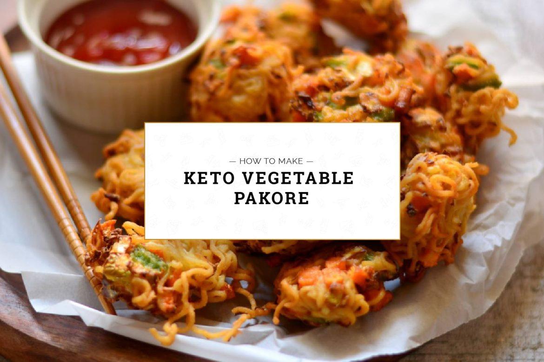 Keto Vegetable Pakore