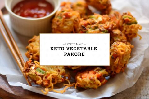 Keto Vegetable Pakore