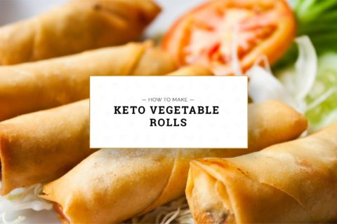 Keto Vegetable Rolls