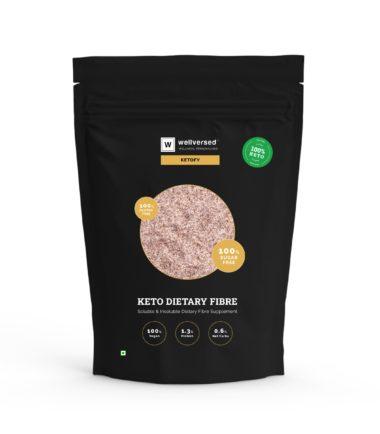 Keto dietary fiber