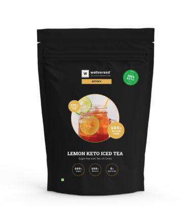 lemon keto iced tea