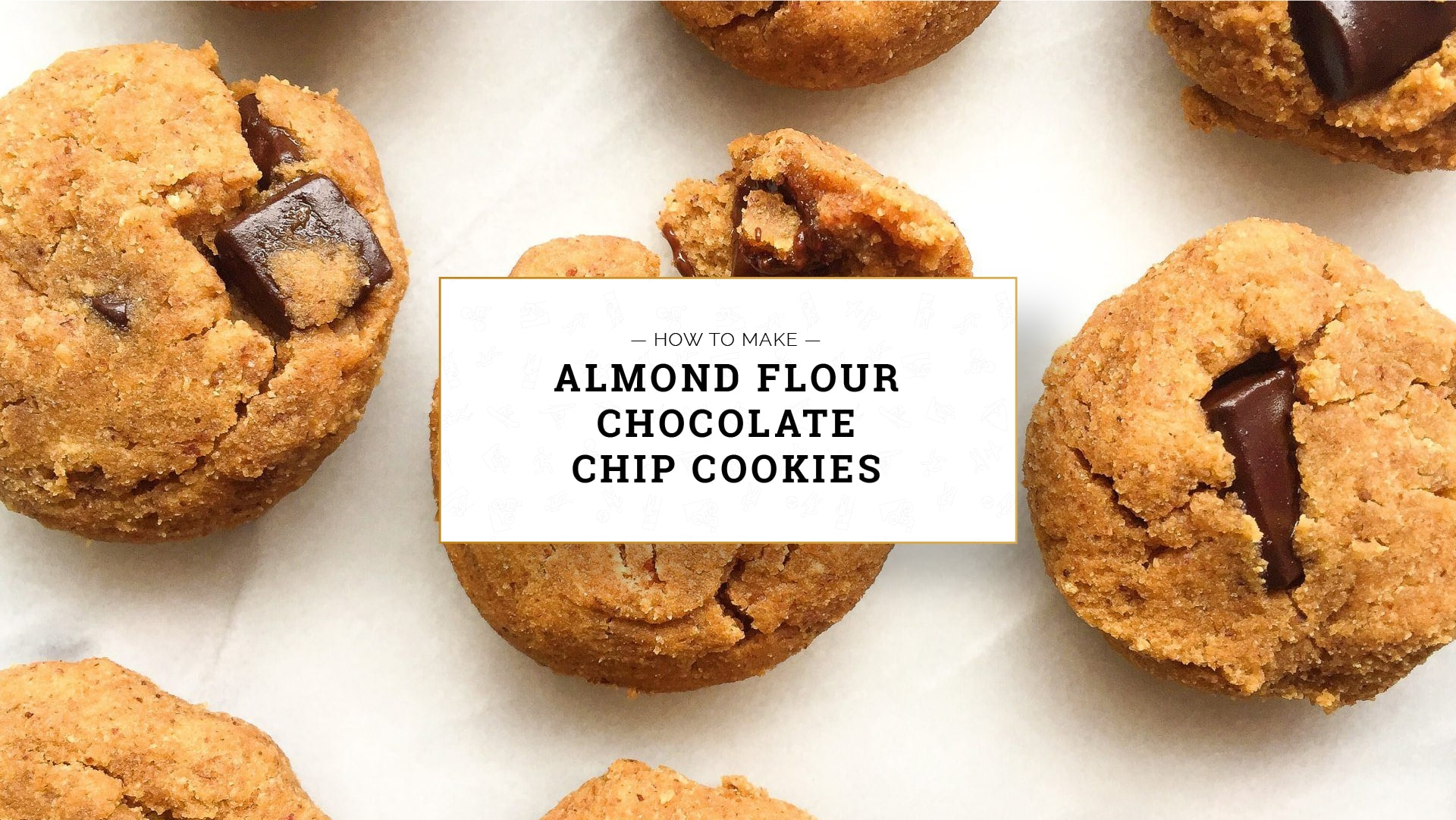 Almond Flour Chocolate Chip Cookies, how to make almond flour chocolate chip cookies