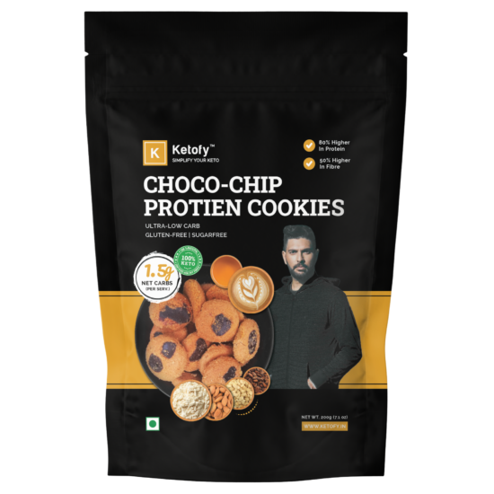 Choco Chip Protein Cookies