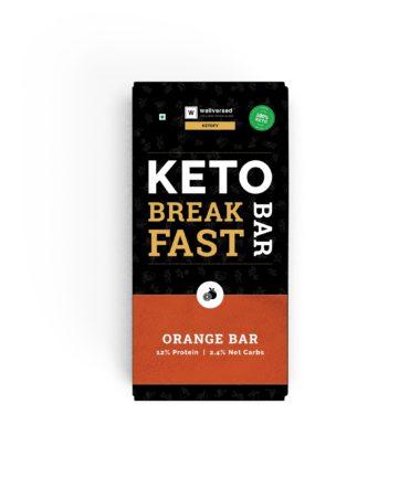 keto orange breakfast bar