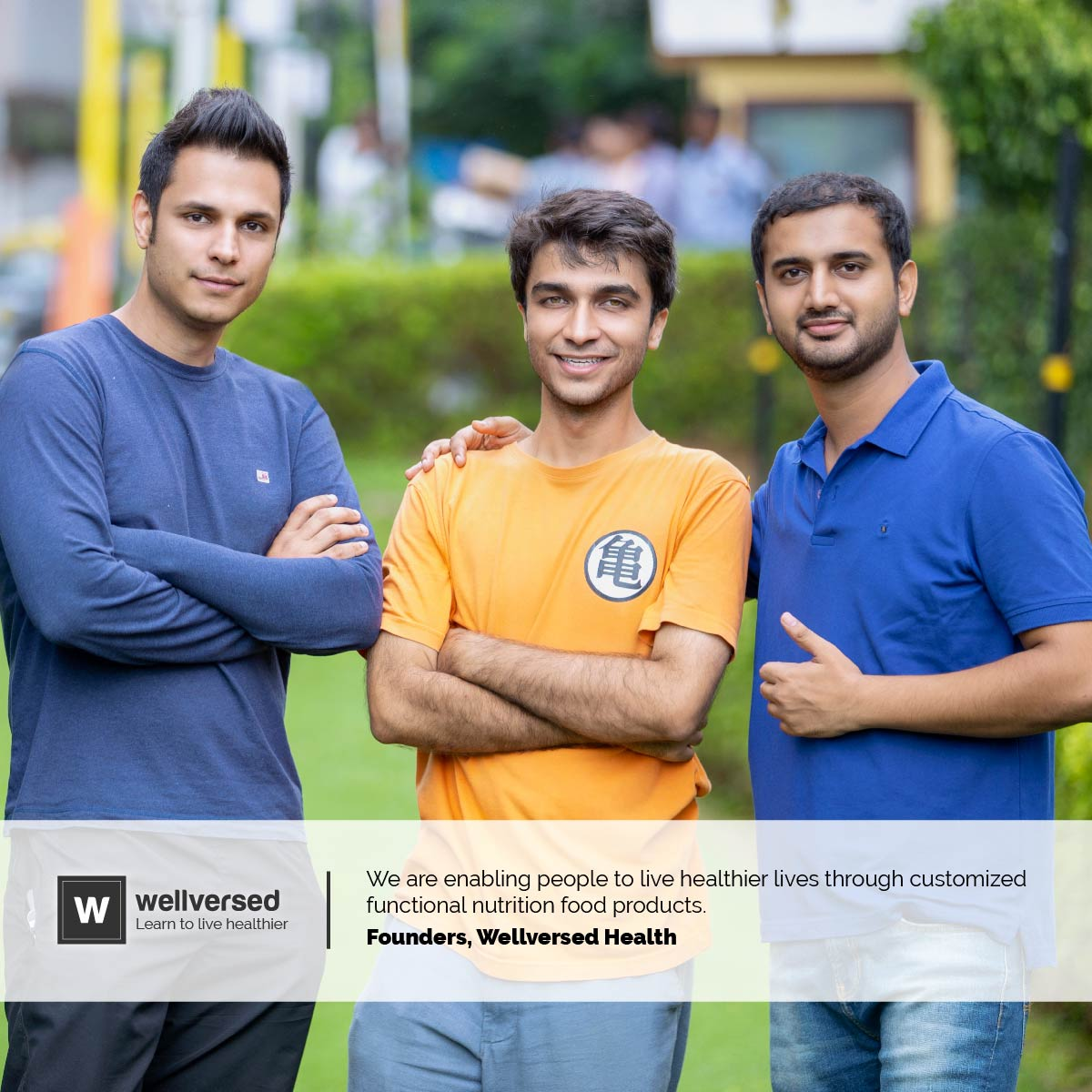 Wellversed Co-founders