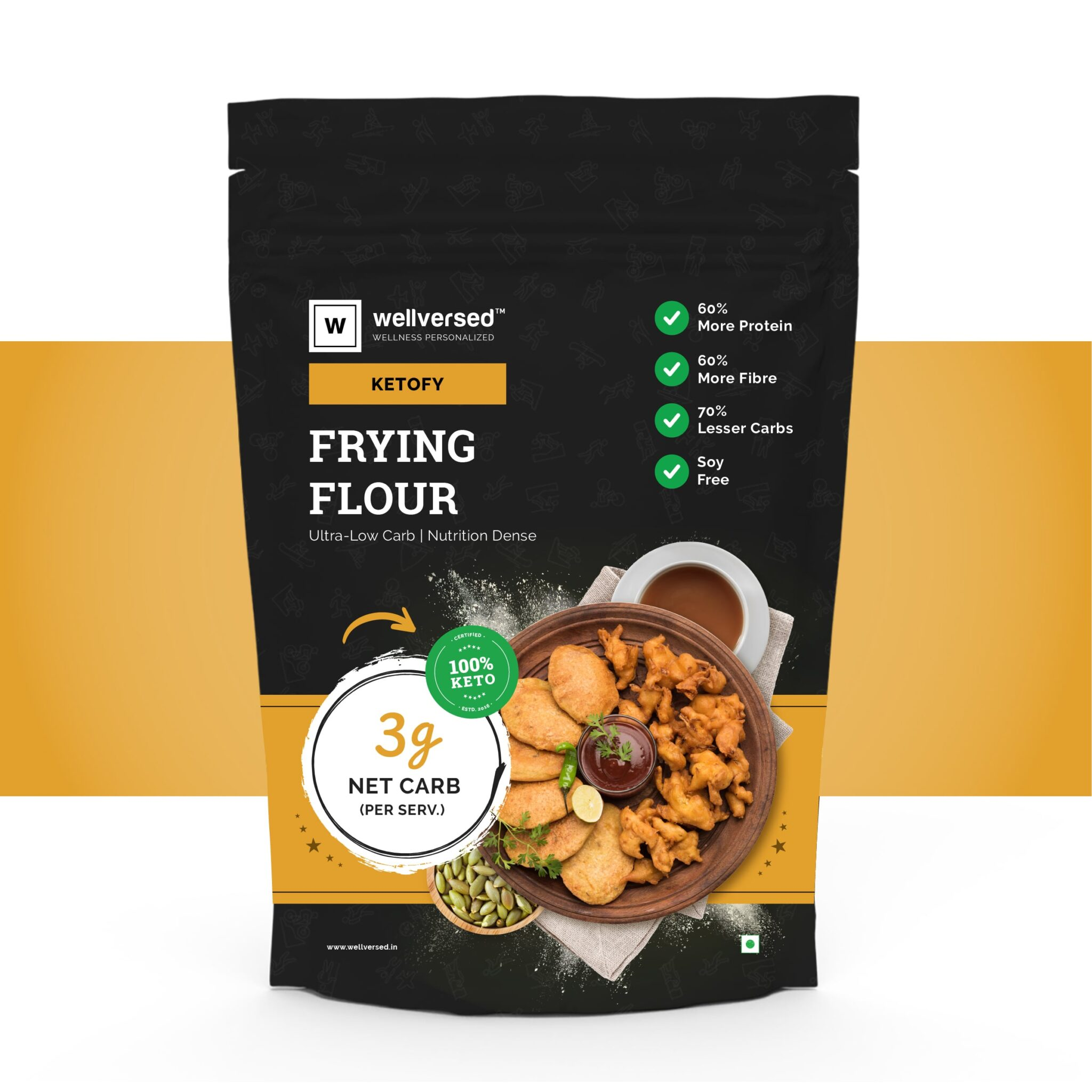 ketofy  frying flour  ultra low carb