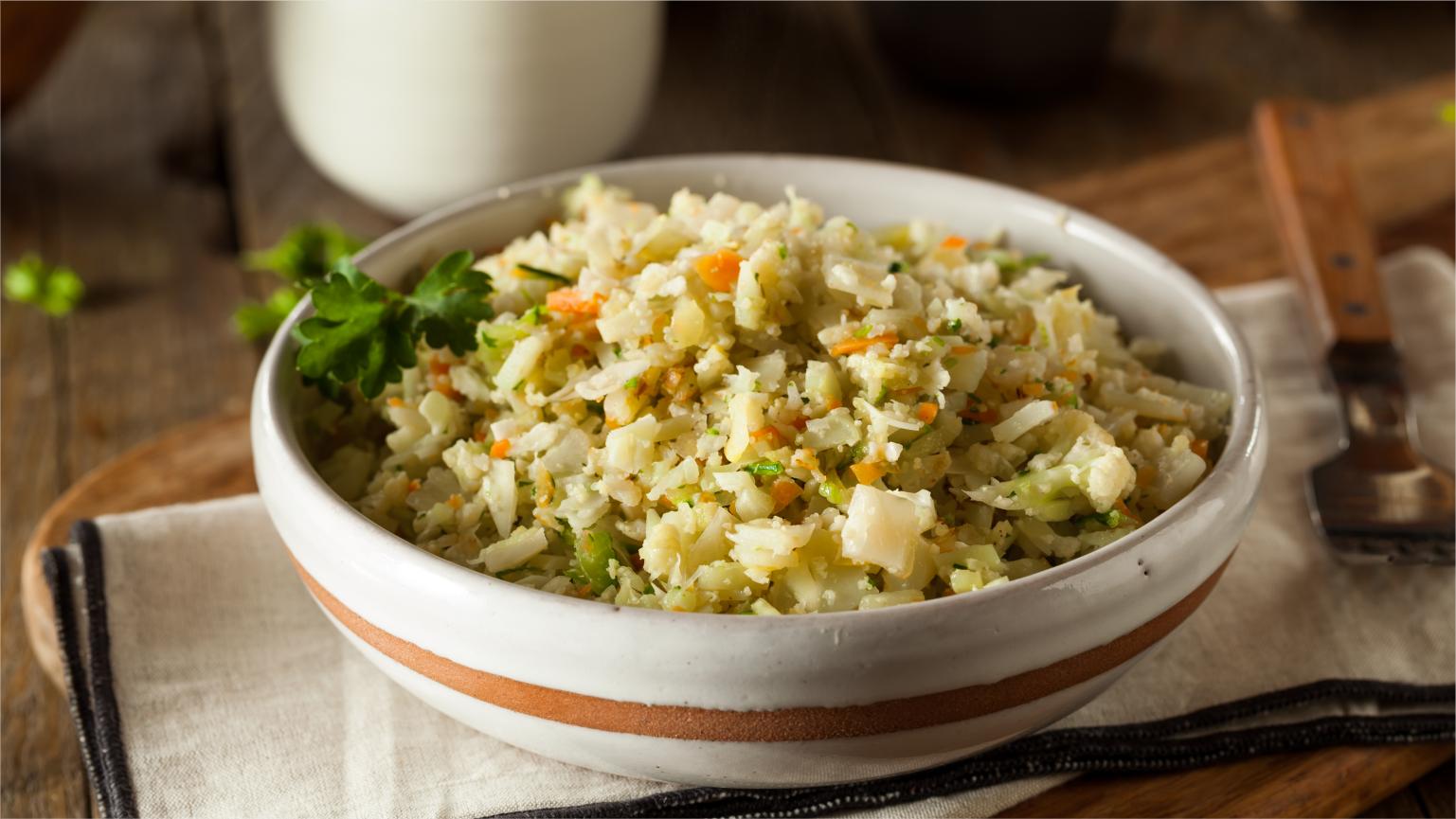 cauliflower rice dishes